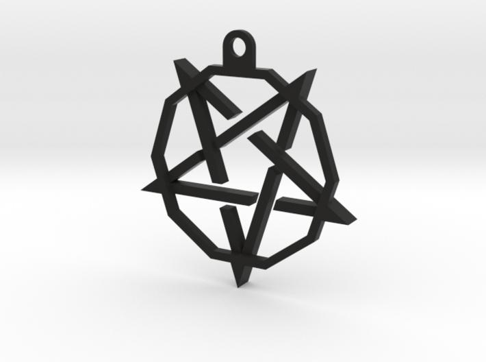 TheoryPentaCoinHolder 3d printed