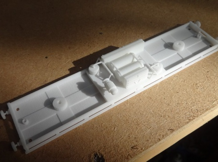 Metropolitan Railway Composite (Chassis) 412 & 368 3d printed