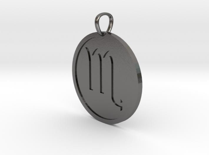 Scorpio Medallion 3d printed