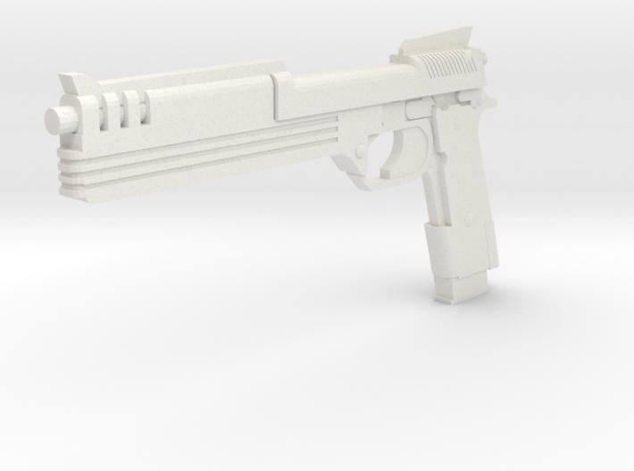 1:3 Miniature Robocop Gun 3d printed