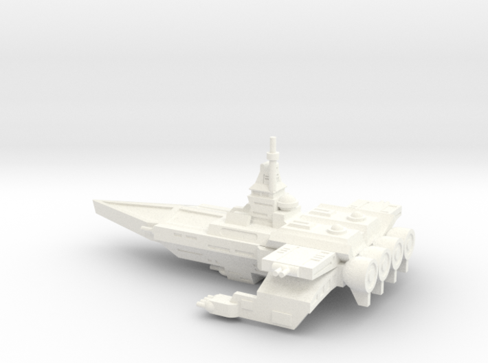 TCS Tiger's Claw - Bengal-class Strike Carrier 3d printed