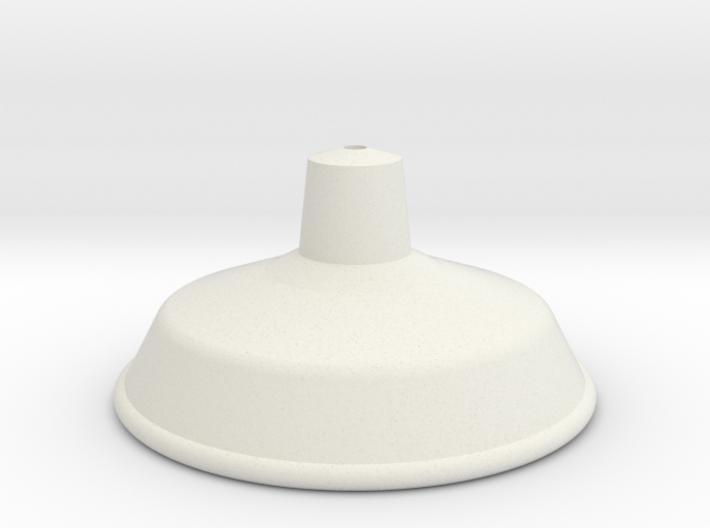 Tin Hat Shade 3d printed