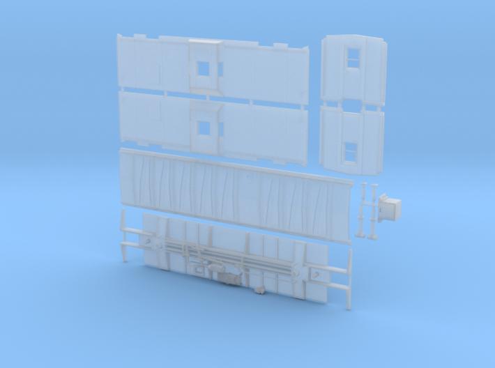 CNW Bay Window Caboose ver. AR 3d printed