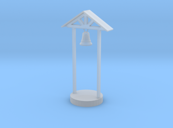 HO Scale School Bell 3d printed This is a render not a picture
