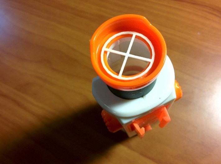ECS-10 Targeting Scope Rear Sight Picture 3d printed