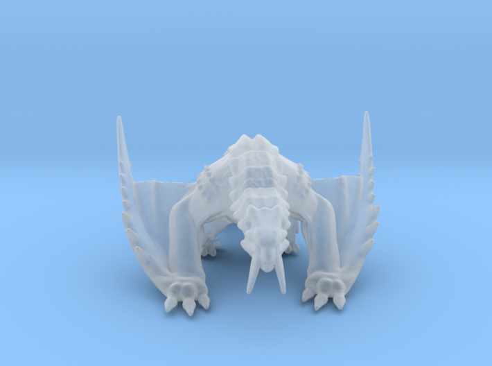 Monster Hunter Barioth Dragon Miniature games rpg 3d printed
