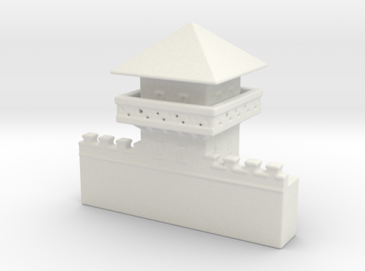 hadrian's  wall  Watchtower 1/600  3d printed