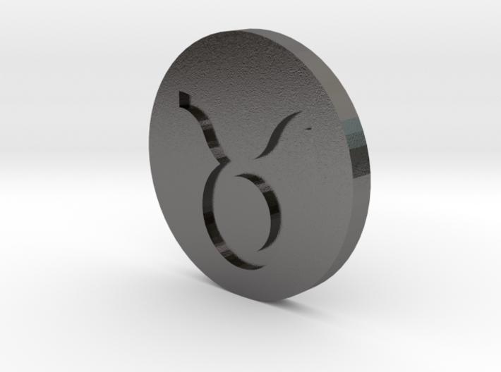 Taurus Coin 3d printed