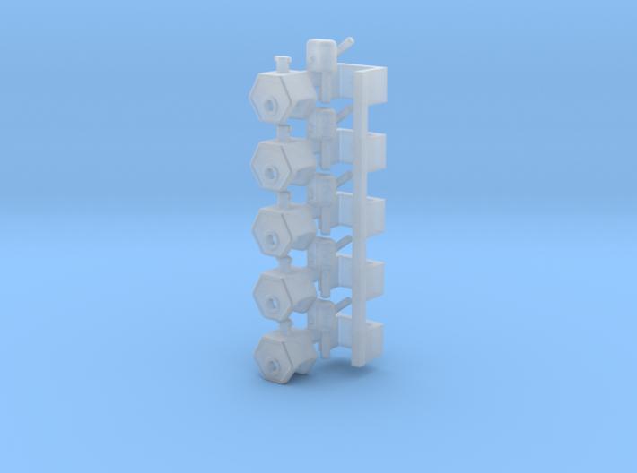 Zugmaul 5x 3d printed
