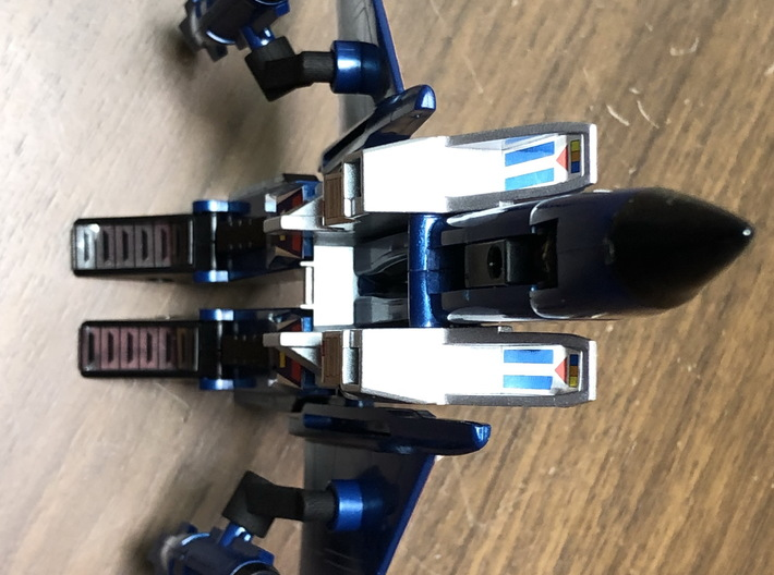 Wing Risers for Transformers G1 Starscream Thunder 3d printed