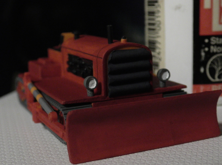Small Vehicle Headlights 1/87 scale 3d printed