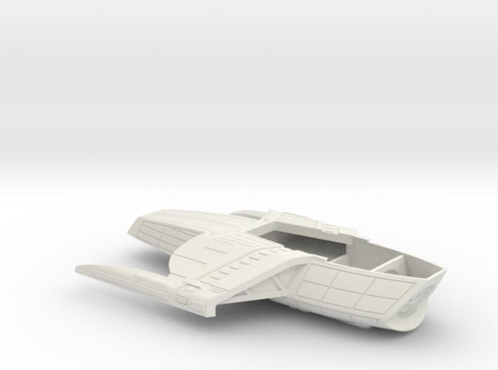 1/1000 USS Palomino Secondary Hull 3d printed