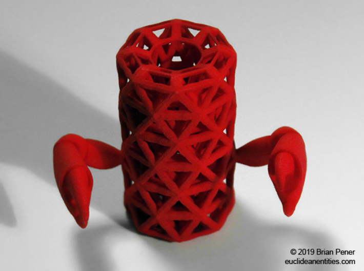 Tube-Crab 3d printed