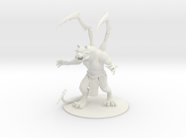Mutilation Demon 3d printed