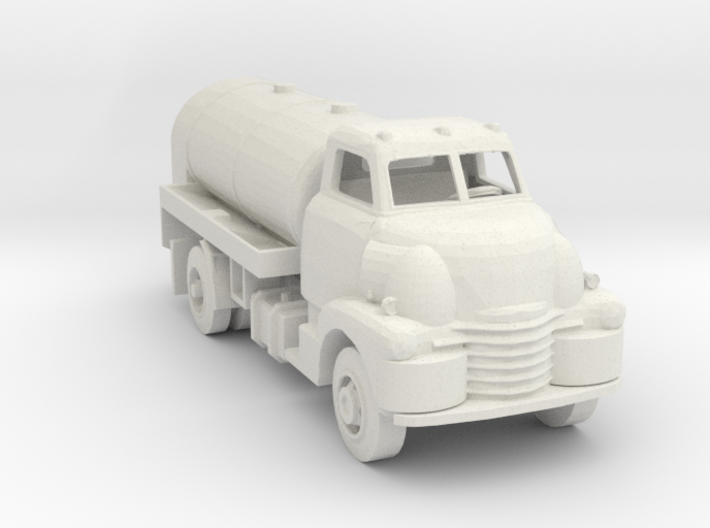 HO Scale Old Tanker Truck 3d printed This is a render not a picture
