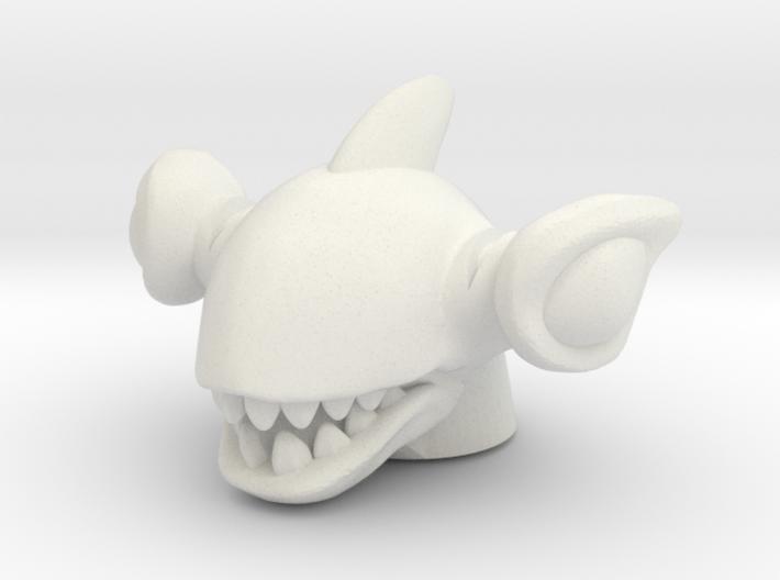 Shark Rulon Head (Multisize) 3d printed