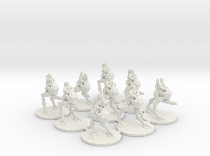 GMO Recon Walkers 3d printed