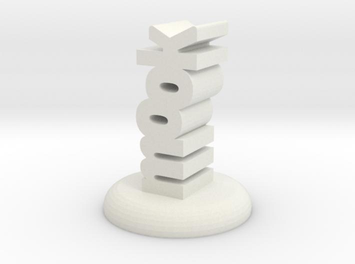 """mook"" D&D Word Mini 3d printed"