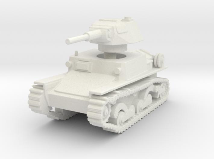 L6 40 Light tank 1/100 3d printed