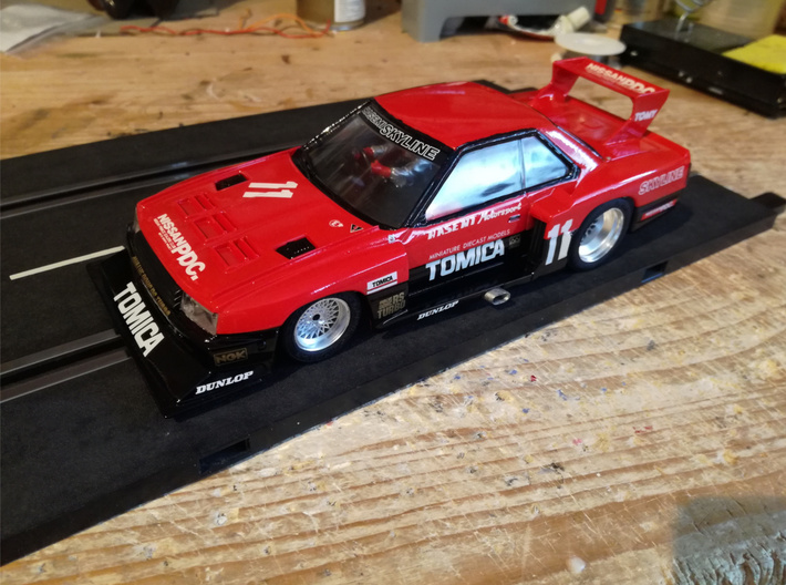 Chassis 124 Nissan Skyline Gr.5 18D 3d printed