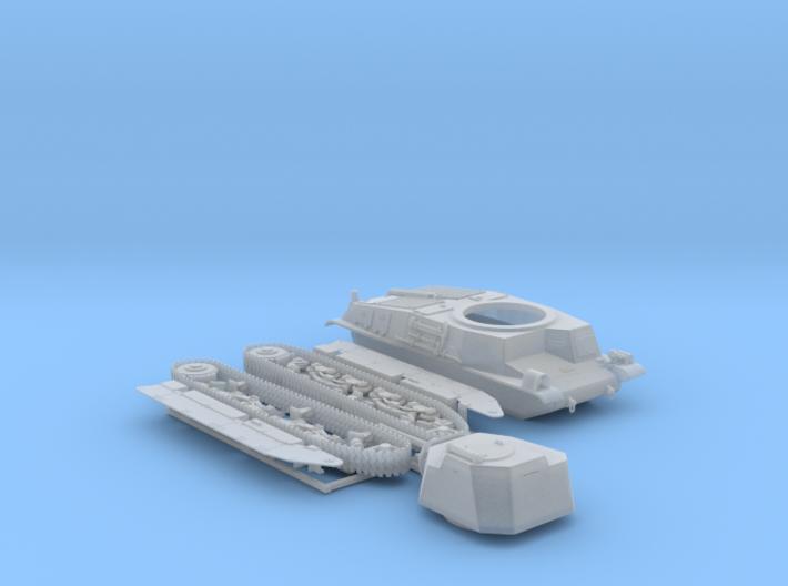 1/87 SARL 42 Tank (FCM 3 Man Turret 47mm SA37 Gun) 3d printed 1/87 SARL 42 Tank (FCM 3 Man Turret 47mm SA37 Gun)