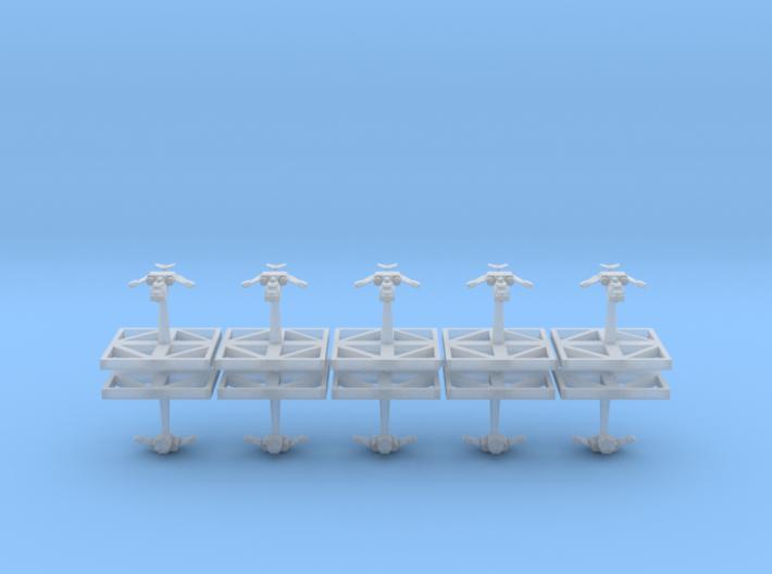 Space Marine Thunderhawks - Concept E 3d printed