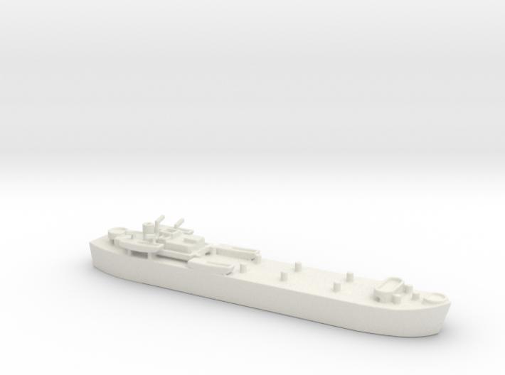 landing ship tank MK3 LST MK3 1/1200 1 3d printed