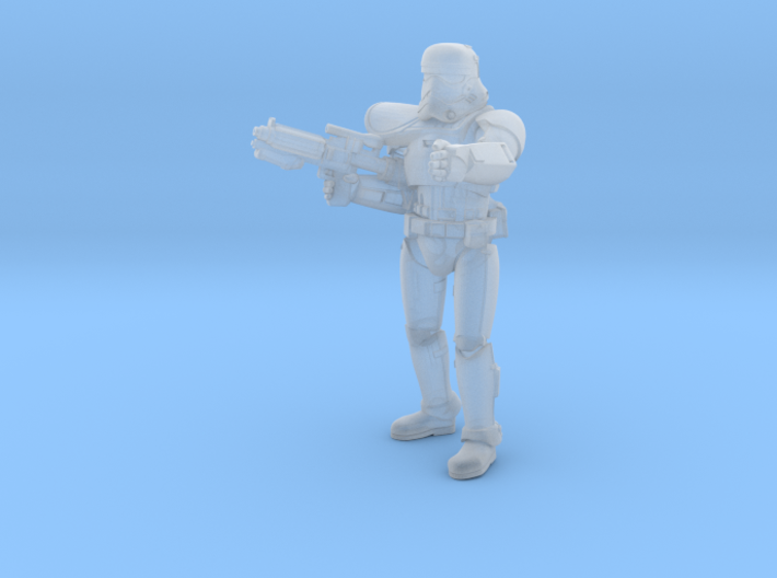 First Trooper A Leader 3d printed