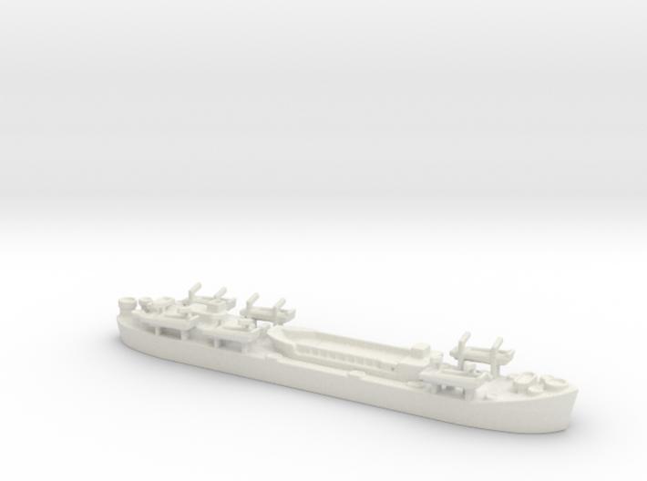 Landing Ship tank MK2 LST 1/600 3 3d printed
