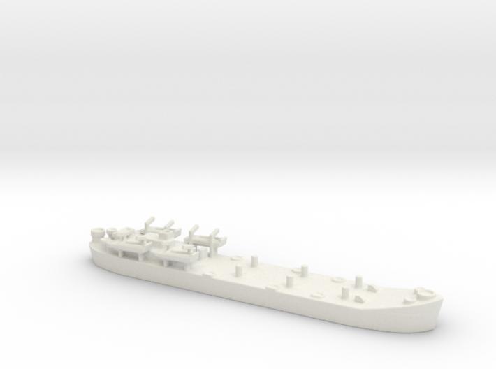 Landing Ship tank MK2 LST 1/600 5 3d printed