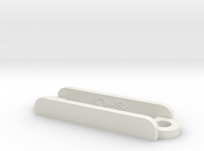 [Q8] Receiver Strap Bracket 3d printed