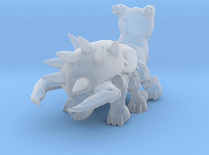 Bio monster assault type medium size  3d printed