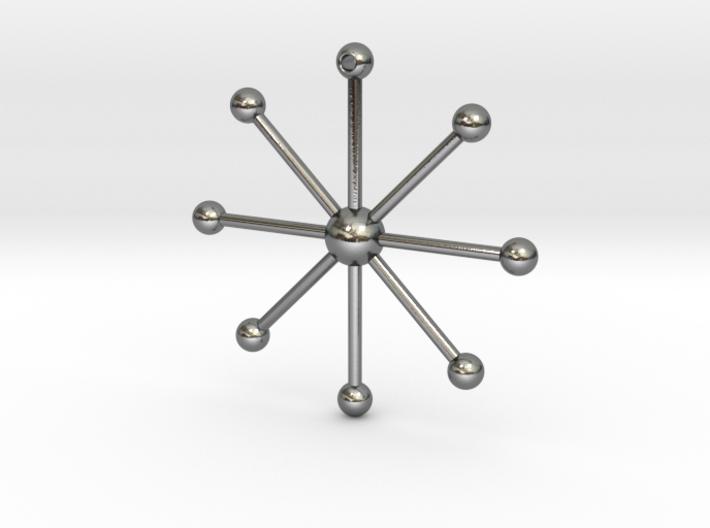 Star Keychain 3d printed