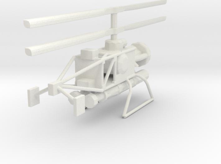 1/96 Scale Gyrodyne QH-50C DASH 3d printed
