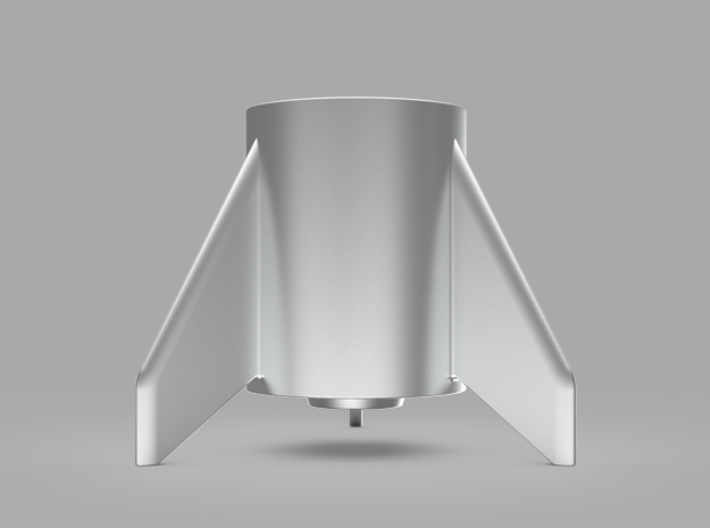 CRS-1, a candle holder 3d printed without a candle (render)