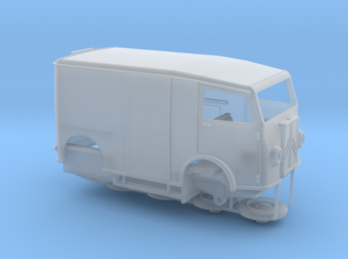 1:87 Citroen TUB 1939 3d printed