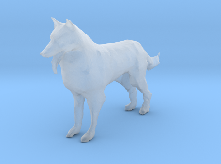 S Scale German Shepard 3d printed This is a render not a picture