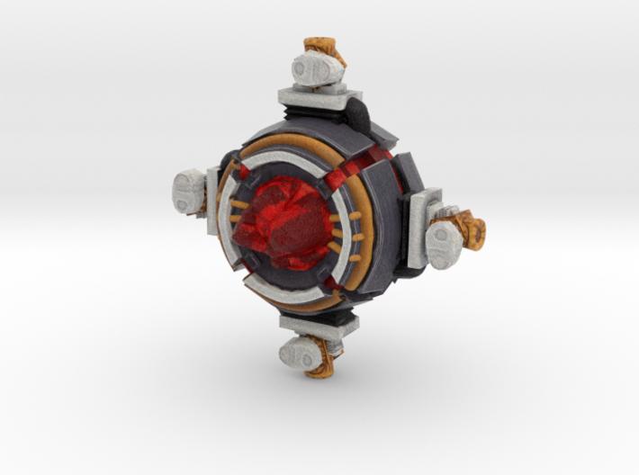 Dark Energon Orb 3d printed