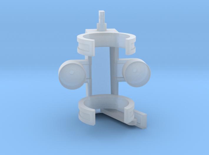 Feller Head 1-50 Scale 3d printed