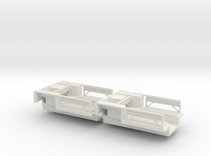 7202A • 2×British M14 Half-track Body 3d printed
