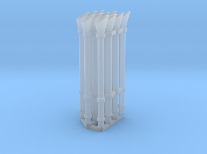 Voice pipe set 1/35 3d printed