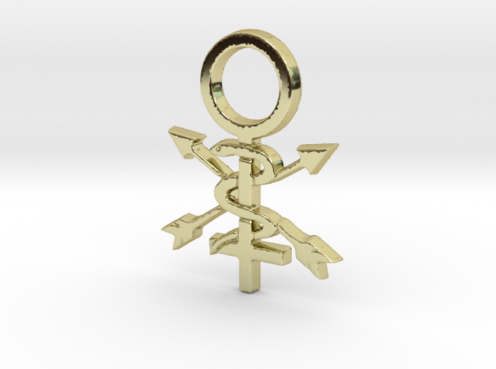 Women In Athletic Training Pin 3d printed