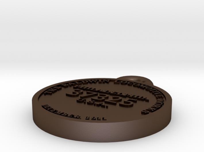 EBT 12 builder's plate 3d printed