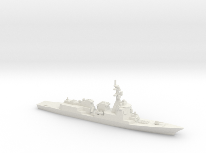 Maya-class Destroyer, 1/1250 3d printed