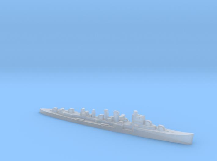 HMS Delhi 1:3000 WW2 naval cruiser 3d printed