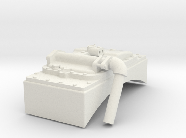 G Scale Reading T1 Feedwater Heater 3d printed