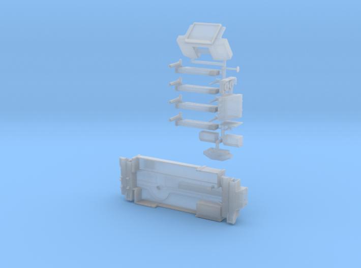 P 200-1 Grundrahmen für Ladekran ähnlich PK 200002 3d printed
