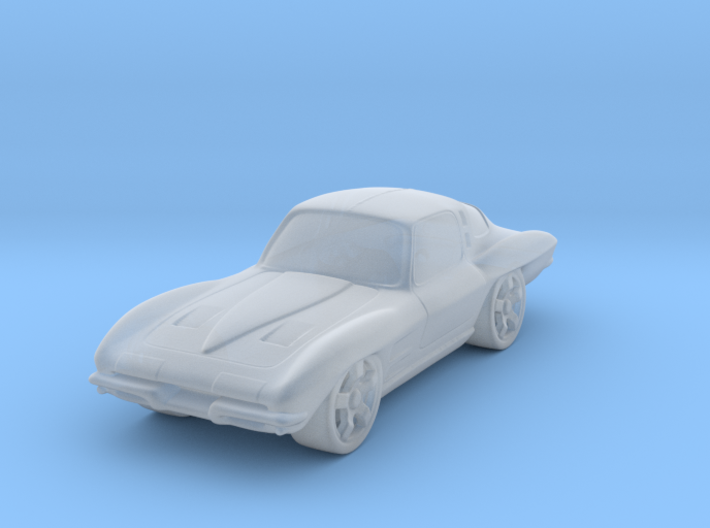 Chevrolet Corvette StingRay 1:87 HO 3d printed