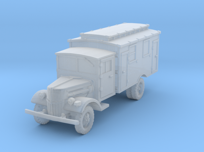 Ford V3000 Radio late 1/200 3d printed