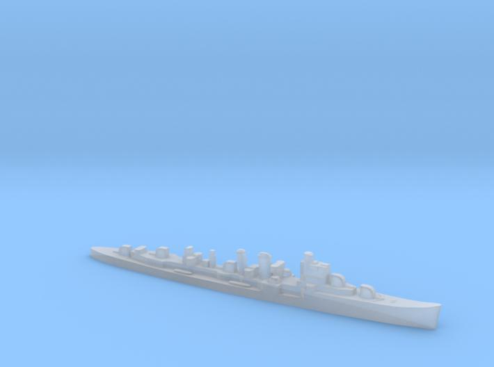 HMS Delhi 1:2400 WW2 naval cruiser 3d printed